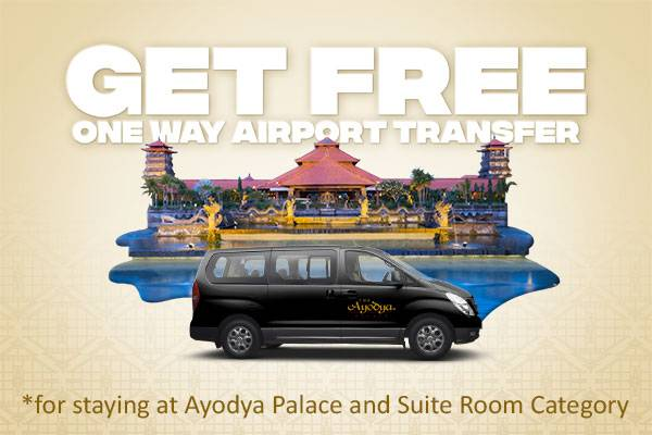 Get free one way airport transfer